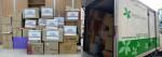 오송사회적가치실현협의체가 아름다운가게에 물품을 기증했다