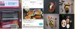 혼밥에빠지다 매장 외부 파사드와 배민 후기, 음식 메뉴