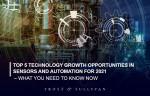 프로스트 앤드 설리번이 2021 센서 및 자동화 산업의 Top 5 성장 기회 분석 보고서를 발표했다