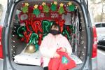 서울시립북부장애인종합복지관 차량 뒷좌석에서 준비한 이벤트