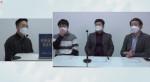 김성휘 쓰리디플러스 대표가 좌장으로 온라인 심포지엄을 진행하고 있다
