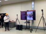 다산중학교에서 융기원 컴퓨터 비전 및 인공지능 연구실 김진평 박사 지도 아래 '인공지능과 영상 처리' 자유학년제 진로체험 실습이 진행되고 있다