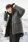 레드페이스 콘트라 멜란 웜 다운 하프 재킷