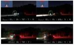 벨로다인 PAEB 시스템을 갖춘 차량은 성인 타깃에 50%가 오버랩되기 전에 멈추고(위 이미지) 고등급 PAEB 시스템을 적용한 차량은 성인 타깃에 충돌한다(아래 이미지)