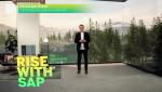크리스찬 클라인 SAP 최고경영자가 온라인으로 진행된 라이즈 위드 SAP: 소개에서 기조연설을 하고 있다