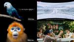 펜타클이 제작한 LG U+의 '멸종동물 공원' 영상 광고