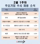 2월 1주차 주요 기업 수시 채용 소식