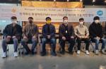 동국대학교 컴퓨터공학과 PLASS연구실과 유니크유엑스는 기술이전 협약식을 가졌다. 왼쪽 2번째부터 나황균 공동대표, 손윤식 교수, 최진원 공동대표