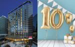 머큐어 서울 앰배서더 강남 쏘도베 호텔이 오픈 10주년을 맞아 다양한 이벤트를 실시한다