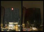 어스아워(Earth Hour) 2021 캠페인에 참여한 영원무역 명동 빌딩