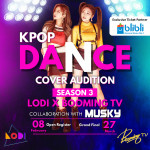 LODI & Booming TV K-POP 시즌 3 포스터