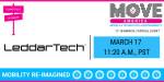 Move America 2021에 참가하는 LeddarTech. '코로나19에도 불구하고 계속 발전하는 AD 기술, 이 같은 발전과 팬데믹 상황이 스마트 시티 전략에 미치는 영향'이라는 주제로 LeddarTech이 후원하는 특별 연사 초청 라운드테이블을 경험할 수 있다