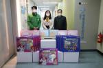 함께하는 한숲이 안양시아동보호전문기관에 학대 피해 아동, 지역사회 소외계층 아동을 위한 학용품 키트를 전달했다