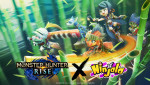 겅호온라인엔터테인먼트가 Ninjala와 MONSTER HUNTER RISE의 컬래버레이션 이벤트를 진행한다