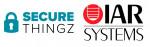 시큐어씽즈(Secure Thingz)와 IAR 시스템즈(IAR Systems) 로고