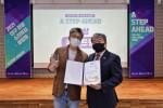 왼쪽부터 애드원 조항원 대표와 대구관광재단 박상철 대표