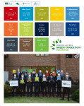 한국+스웨덴 녹색전환연합에 참여한 13개 기업의 관계자는 각각 서약을 들고 야콥 할그렌 주한스웨덴 대사, 요한 천 주한스웨덴무역투자대표부 상무 참사관과 단체 기념 촬영을 진행했다