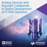 아나로그디바이스와 키사이트 테크놀로지스가 네트워크 상호운용성 및 호환성 테스트를 가속하기 위한 협업을 진행한다