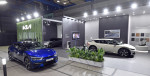 xEV 트렌드 코리아 2021에 전시된 기아 EV6