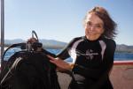 롤렉스 홍보대사이자 미션 블루를 이끌고 있는 해양학자 실비아 얼