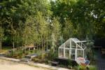 자작나무와 미니온실을 만날 수 있는 겨울정원2