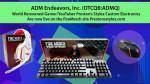 ADM엔데버: 세계 유명 게이머/유튜버 프레스턴, 스타일레즈 '파이어 머치' 라인서 전자제품 론칭