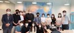 경기도 평택시 평택대학교 스마트 컨텐츠학과 학과장 이요섭 교수(왼쪽에서 네 번째)