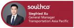 사우스코가 사우스코 아시아 태평양 지역 운송 전략 사업부 총괄 책임자로 지크프리트 쑤(Siegfried Xu)를 임명했다