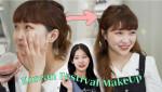 미지스튜디오 '일본인에게 한국식 축제 메이크업을 해준다면?'