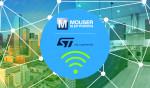 마우저 일렉트로닉스는 ST와 무선 솔루션 기술 콘텐츠 사이트를 개설했다
