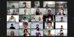 최종 성과공유회 20개 기업 단체 기념 촬영(줌 화면 캡쳐)