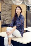 레드페이스가 출시한 플라워 프린트 7부 우먼 재킷