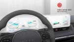 레드 닷 어워드 UX 부문에서 최우수상을 받은 현대 전기차용 인포테인먼트 시스템 'Jong-e'