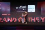 덴티스테가 '2021 올해의 브랜드 대상'에서 프리미엄 치약 부문 3년 연속 1위에 올랐다
