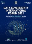 The Data Sovereignty International Forum 2021 is held on September 8 as a virtual event under the slogan 'My Data, My Right'