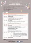 UNEVOC 동아시아·동남아시아 클러스터 회원 네트워크 강화 1차 워크숍 포스터