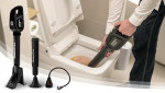 BOMBA STICK, the one-touch premium cordless plunger