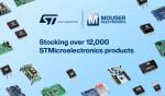마우저 일렉트로닉스가 광범위한 ST마이크로일렉트로닉스 제품을 공급한다