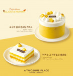 프리미엄 디저트 카페 투썸플레이스가 선보인 고구마 케이크가 출시 4주 만에 약 17만개 판매됐다