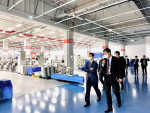 SurplusGLOBAL CEO Bruce Kim is introducing the facilities to related parties of NINT at Semiconductor Equipment Cluster in Yong-In, South Korea
