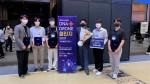 'DNA+ 드론챌린지2021'에서 자유비행챌린지 부문 최우수상을 수상한 건국대 기계항공학과 학생들