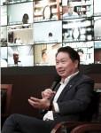 최태원 SK그룹 회장이 '제3차 거버넌스 스토리 워크숍'에 참석해 마무리 발언을 하고 있다