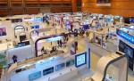 글로벌소프트웨어캡퍼스가 참가한 대한민국 4차 산업혁명 페스티벌&블록체인 서울 전시 전경