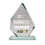 Go Global Awards 2021 트로피
