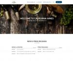 캘리포니아와인협회 B2B 한국 홈페이지