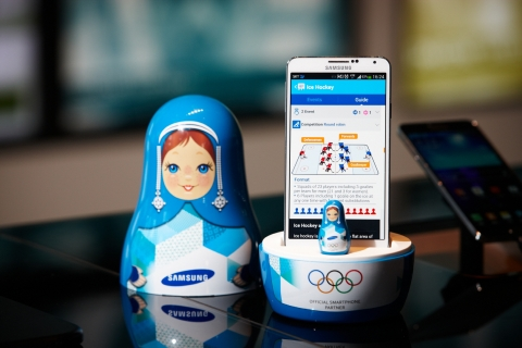 Samsung WOW App Connects Millions Worldwide to Sochi 2014