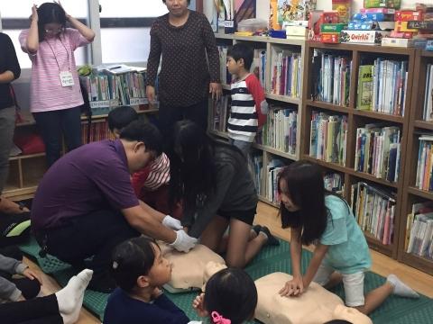경인센터 봉사동아리 '열창소', 재능나눔으로 찾아가는 심폐소생술 교육 실시