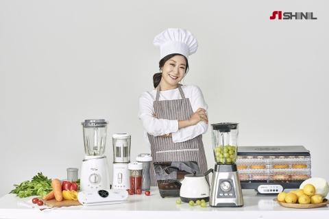 신일산업, 배우 라미란 홍모모델로 선정