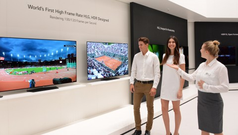 LG 올레드 TV, 뛰어난 HDR 기술로 해외 유력 매체들로부터 호평