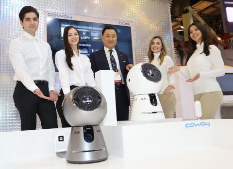 코웨이, 2017 CES서 고객 안심 혁신 제품과 서비스 선보여